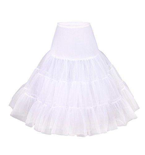 - Women's 50s Vintage Rockabilly Petticoat, 25