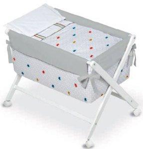 Bimbi 28940701–vestidura Baby Motiv plumeti, Farbe Weiß