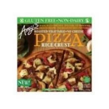 - Amys Organic Single Serve Rice Crust Roasted Vegetable Pizza, 5.5 Ounce -- 12 per case. by Amy's
