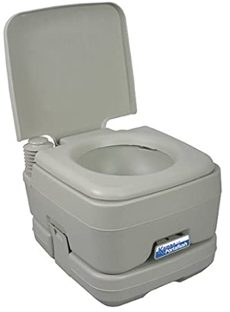 Portaflush 10 Portable 10 Litre Toilet, camping: Amazon.co.uk ...