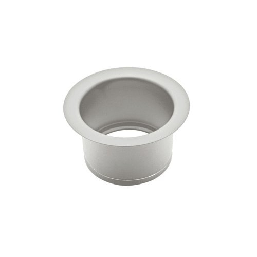 Rohl ISE10082SS 2-1/2-Inch Extended Throat for Fireclay Sinks and Shaws Sinks in Stainless Steel
