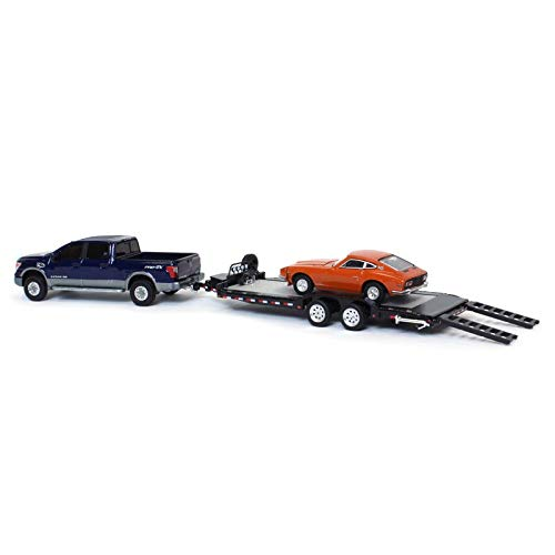 Official Nissan Limited Edition 1:64 Scale Titan XD Pro-4X with Hauler and 240Z