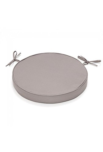 Cuscini Per Sedie Cucina Fai Da Te.Rideaudiscount Cuscino Rotondo Per Sedia Impermeabile Rotondo 38