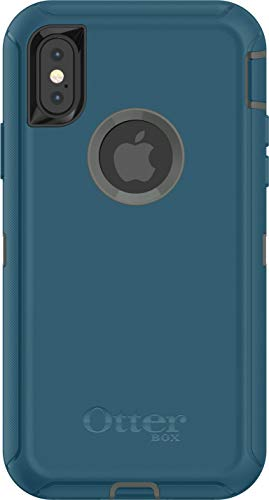 OtterBox Defender Series Case for iPhone X/10 (Case Only - Holster Not Included) (Agave Green/Corsair)