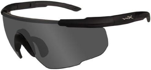 Wiley X - Gafas Protectoras Saber Advanced en Juego con Tres Cristales, Color Negro Mate, M/XL, 308