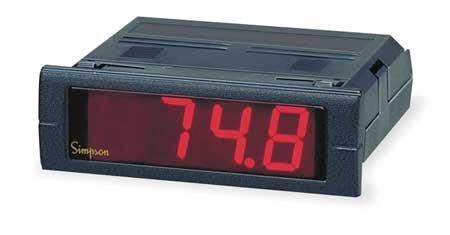Digital Panel Meter, Temperature (Panel Simpson Digital Meter)