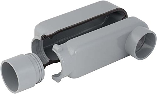 Madison Electric Products EZLB200 Connector, 2'', Gray by Madison Electric Products
