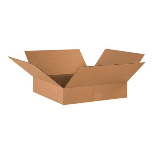 Flat Corrugated Boxes (Aviditi 18184 Flat Corrugated Box, 18