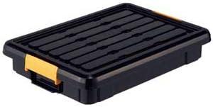頑丈箱(工具箱) ブラック 325×465×85cm 【×10セット】