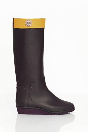 Nokian Footwear Julia Lundsten - Loose Leg - Botas de goma para mujer marrón - marrón
