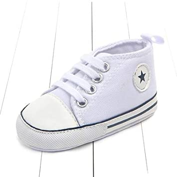 f1b61c1f8f92b Embiofuels - New Canvas Classic Sports Sneakers Newborn Baby Boys Girls  First Walkers Shoes Infant Toddler