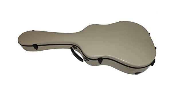 Premium Guitarra Maleta GFK Guitarra acústica para guitarra fibra de vidrio Acoustic Guitar Case Dreadnought – Singing Dragon: Amazon.es: Instrumentos musicales