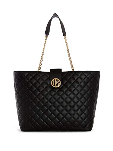 GUESS Factory Plush Quilted Carryall