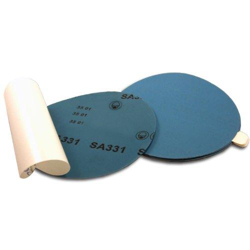 "5"" Stick On PSA 600 Grit Wet/Dry Autobody Film Sanding Discs, 50 pack"
