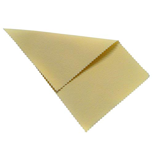"Sunshine Polishing Cloth for Sterling Silver, Gold, Brass and Copper Jewelry 5"" x 7.5"""
