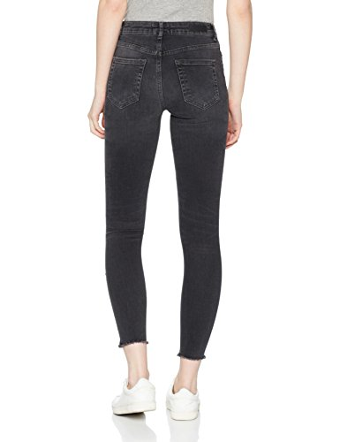 Femme Pieces Light Grey Denim Gris Jean Skinny AwUxqB6