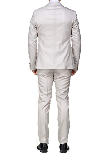 Beige 14 Pieces Azzaro Ficelle Lc252s Costume 3 bu1y004 6wT80zq
