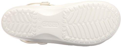 Crocs Karin Clog, Zuecos para Mujer Bianco (Oyster)