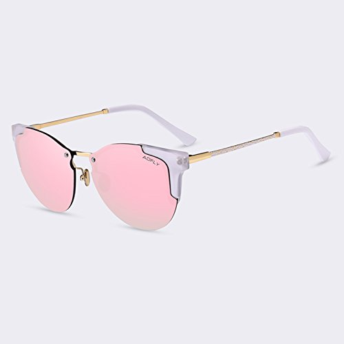Gafas de gafas C05gris de de de TIANLIANG04 femme sol de de lujo gafas lunettes Gato sol C02Pink mujeres soleil espejo de Gafas degradado Moda Ojo ZBOB8
