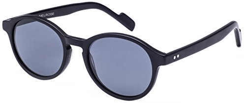 Crimson Visual - Melrose - Polarized Sunglasses (Black, - Melrose Sunglasses