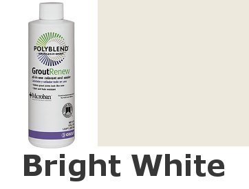 Polyblend #381 8 oz. Bright White Grout Renew Colorant - Bright White Interior Paint