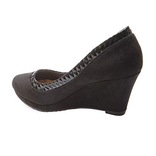 Sintético La Mujer Modeuse Vestir 38445 Negro De Zapatos w4wp1X