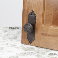 Century Hardware Georgian Premium Soild Brass Backplate 1-1/2'', Great for enhancing a cabinet knob or covering up old hardware marks, 16709-10B-Oil Rubbed Bronze-Value Pack of 25