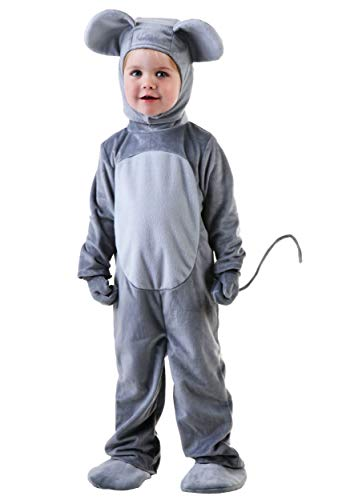 Mouse Costume Toddler Merry Mouse Costume for Toddlers 4T Gray]()