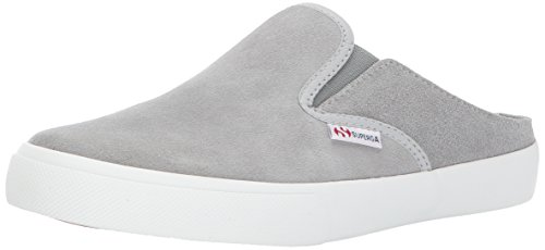 Suew Superga Suede Sneaker 2388 Fashion Women Grey EEngqCAw