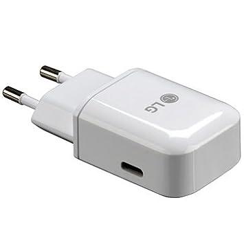 CARGADOR RÁPIDO LG MCS-N04ER USB TIPO-C - BLANCO: Amazon.es ...