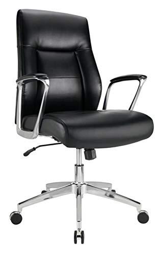 Awesome Amazon Com Realspace Modern Comfort Series Delagio Bonded Machost Co Dining Chair Design Ideas Machostcouk