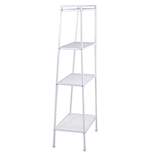 Amazon.com: Cypressshop Wall Ladder Shelf Standing