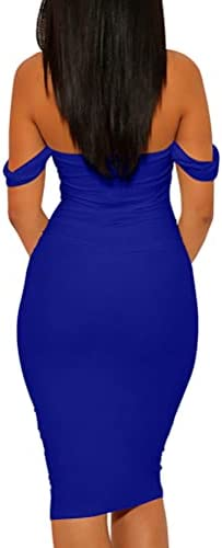 Royal blue wedding dress _image3