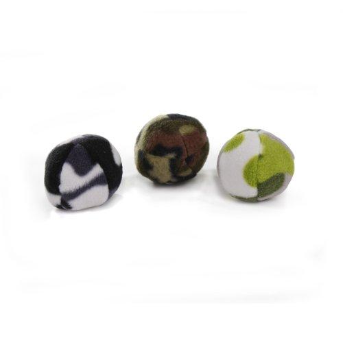 Krislin 3-Piece Cat Kick Balls with Catnip, My Pet Supplies