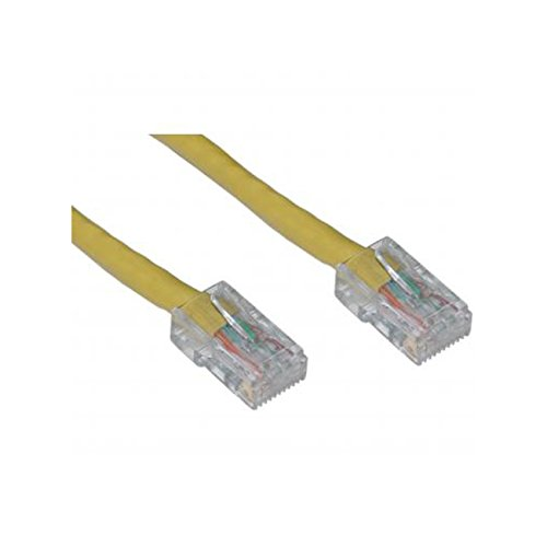 Yellow Offex Cat5e Ethernet Patch Cable Bootless 14-Foot clickhere2shop OF-10X6-18114
