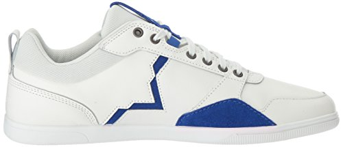 Diesel Mens Happy Hours S-Tage Sneaker Dirty White/Surf Blue 03UqN3LaDd
