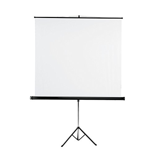 Hama Tripod Projection Screen, 155 x 155 cm, White by Hama