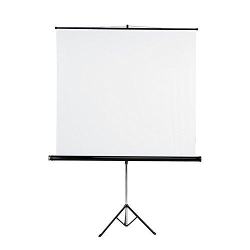 Hama Tripod Projection Screen, 155 x 155 cm, White by Hama