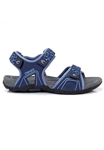 CHIRUCA Women's Athletic Sandals Blue Blue