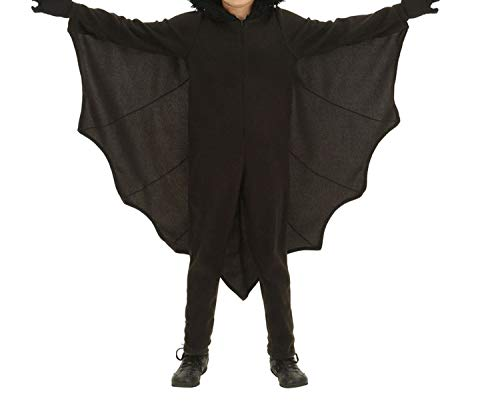 Bat Costume Kids Halloween Costumes Jumpsuit Connect Wings Gloves,Children,S -