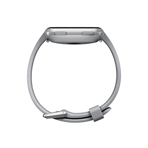 Fitbit Versa Smartwatch, Gray/Silver Aluminium, One Size (S & L Bands Included) by Fitbit (Image #2)