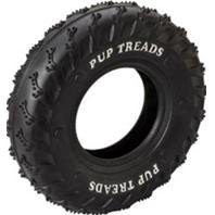 DPD PUP TREADS RUBBER TIRE - Size: 8IN - Color BLACK (Treads Pup Rubber)