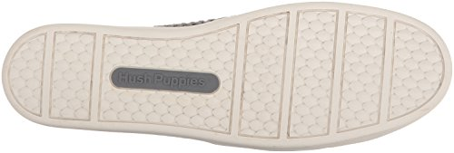 Hush Puppies Womens Glissement Tissé Gabbie Sur Gel Gris Mocassin