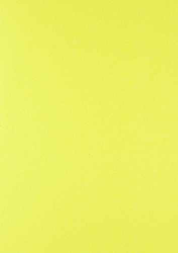 House of Card & Paper A4 300 gsm Card - Yellow Fluorescent /Neon (Pack of 25) HCP352