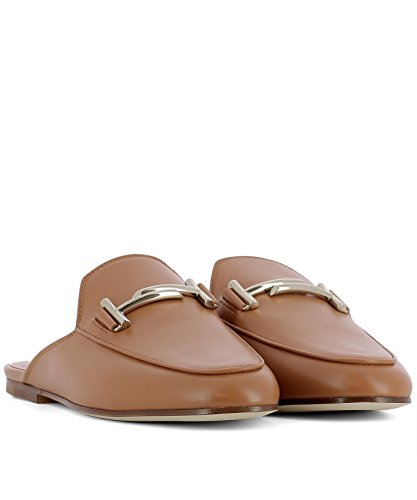 Tods Ladies Xxw79a0x970g0cs002 Sandali In Pelle Marrone