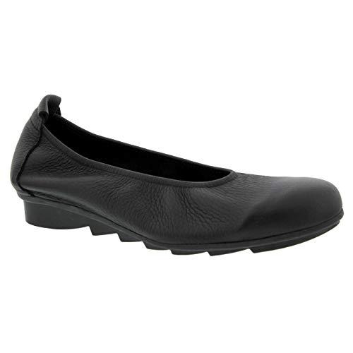 Arche Women's Bibara Noir Leather 38 M EU ()