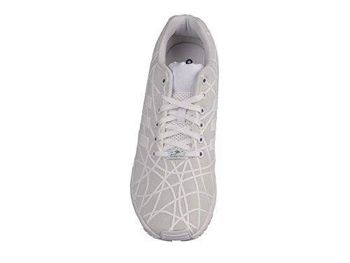 Zapatos para correr sintético Adidas Zx Flux White/White/White