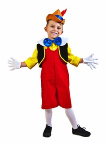 Child Pinocchio Costume (Size: X-Small 4-6)]()