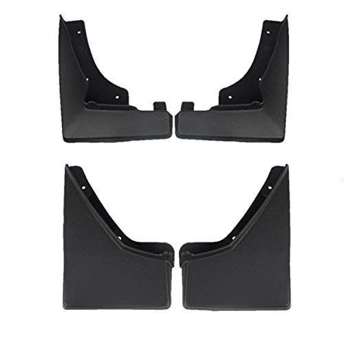 (Set of 4 Front and Rear Mud Flaps Splash Guards for Cadillac SRX 2010-2015)