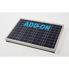 gradeuk Solar 40Add-On Solar Panel Wohnwagen Wohnmobil Boot